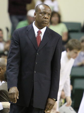 Ernie Kent - Kent during a Oregon men's basketball game on March 4, 2010