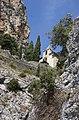 Escalier vers l'église, Moustiers-Sainte-Marie, Alpes-de-Haute-Provence, France - panoramio.jpg
