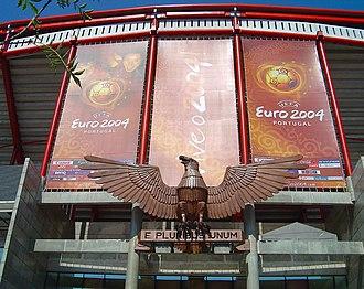 Estádio da Luz - Entrance of the stadium during the UEFA Euro 2004