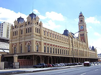 Luz Station - The station in 2005, after several improvements