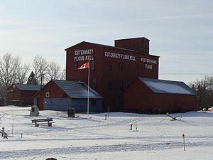 Hungarian Canadians - Image: Esterhazy Flour Mill