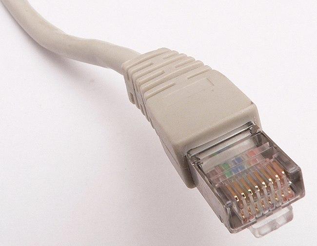File:Ethernet RJ45 connector p1160054.jpg