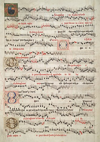 Eton Choirbook - O Maria salvatoris, from the Eton Choirbook