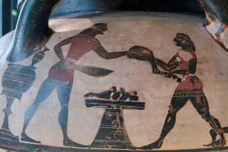 Eurytios Krater - Image: Eurytios Krater Louvre E635 n 4