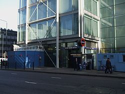 Euston Square stn south entrance.JPG
