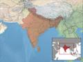 Eutropis carinata distribution.png