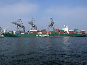 Ever Develop p2, at the Amazone harbour, Port of Rotterdam, Holland 16-Jan-2005.jpg