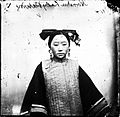 Example of a coiffure on a Tartar or Manchu female Wellcome L0018854.jpg