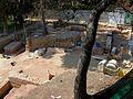 Excavació arqueològica al palau del Real de València, Jardins de Vivers (2009).JPG