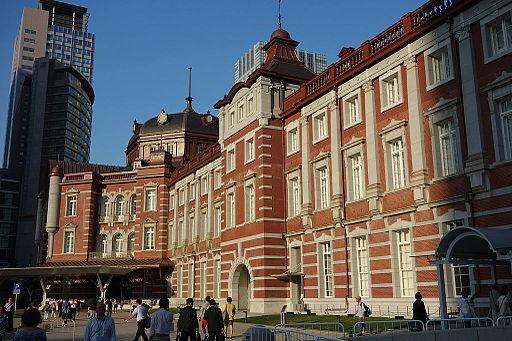 Exterior - Tokyo Station Marunouchi Building - DSC09855