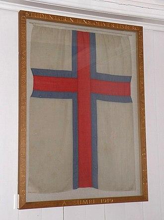 Fámjin - Image: Færøernes.flag.2