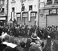 Fő tér, 1938. november 11., Horthy Miklós kormányzó (balra) bevonulása. Fortepan 6168.jpg