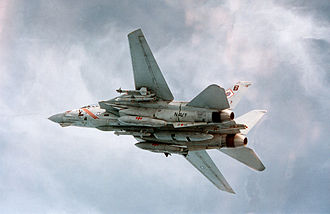 VFA-102 - VF-102 F-14A Tomcat carrying TARPS loadout including ECA and ALQ-167