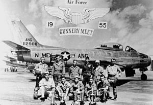 New Mexico Air National Guard - 188th Fighter Squadron in 1955