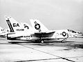 F-8L Crusader of VMF-321 at Andrews AFB in 1970.jpg