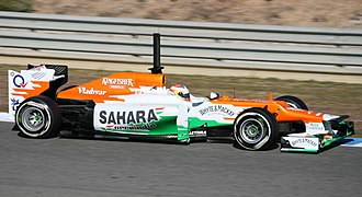 Mercedes AMG High Performance Powertrains - Force India, one of Mercedes engine users.
