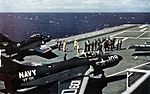 F9F-8s VF-121 launching from USS Hancock (CVA-19) c1955.jpg