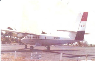 1981 Panamanian Air Force Twin Otter crash - FAP-205, the aircraft involved in the crash