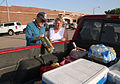 FEMA - 30063 - Residents packing to leave an emergency shelter in Kansas.jpg