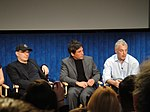 File:FRINGE On Stage @ the Paley Center - Akiva Goldsman, J H Wyman, and Jeff Pinkner (5741152229).jpg