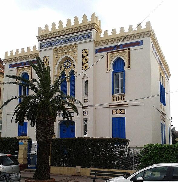 Villa Tunisienne, 1 avenue Andrée-de-David-Beauregard (Inscrit, 1999)
