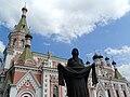 Facade of Pokrovsky Cathedral - Grodno - Belarus (27162600054).jpg