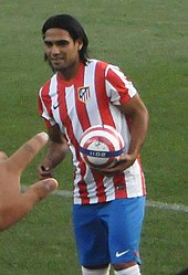 Falcao Being Unveiled As An Atletico Madrid Player In August