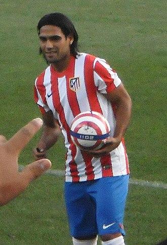 Radamel Falcao - Falcao with Atlético Madrid in 2011