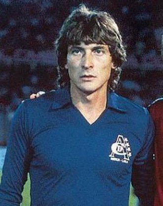 Julio César Falcioni - Falcioni while playing for   América de Cali (1986)