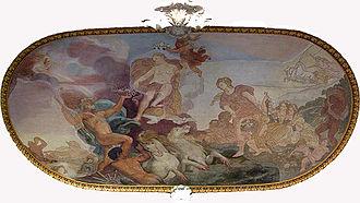 Villa Falconieri - The Birth of Venus.