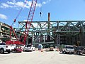 Fall River Route 79, 1st Davol Street Truss Removed, March 21, 2014 (13402361143).jpg