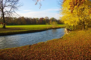Englischer Garten - Autumn foliage in English Garden