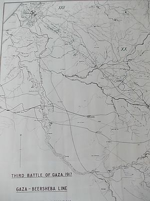 Southern Palestine Offensive - Western section of the Gaza–Beersheba Line