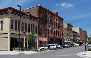 Faribault, Minnesota - Buildings in downtown Faribault