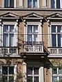 Farkas ház (1887). Erkély. - Budapest, Palotanegyed, József körút 21.JPG