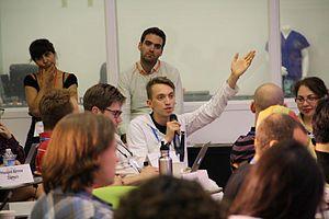NASA Research Park - Federico Pistono speaking at Singularity University NASA Ames Research Park