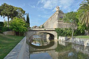Giovan Giacomo Paleari Fratino - City wall bastion of Sant Pere by Paleari in Palma de Mallorca