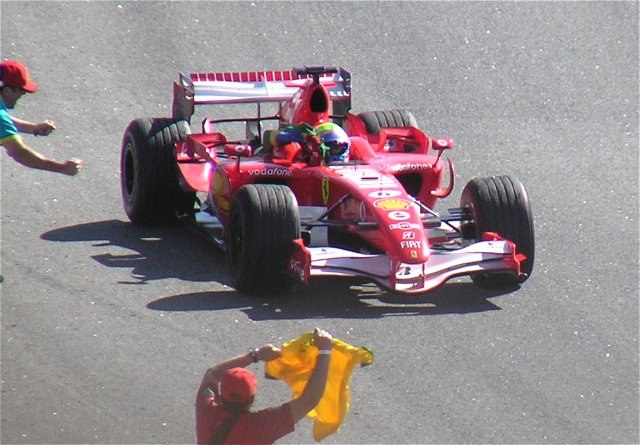 Felipe Massa 2006 Brazil winner