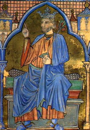 Ferdinand III of Castile - Ferdinand III in a 13th-century miniature
