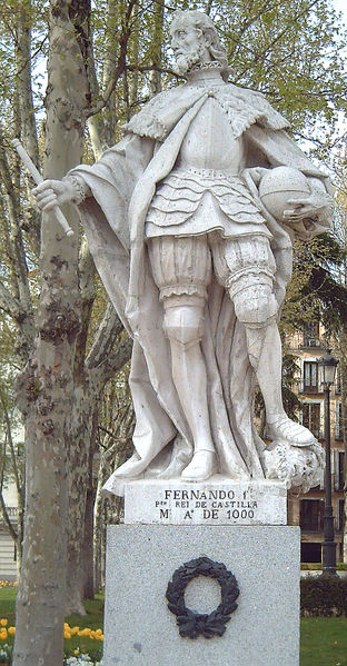 Historical Art and  Symbolism inspiration in CONAN - Page 8 312px-Fernando_I_de_Castilla_01