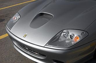 Ferrari 575M Maranello - Ferrari Superamerica hood scoop.