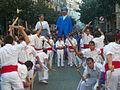 Festa Major de Gràcia 2011 - Bastoners de Barcelona - XIII cercavila de cultura popular - carrer Gran P1330073.jpg