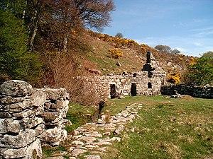 Llangybi, Gwynedd - Image: Ffynnon Gybi geograph.org.uk 102127