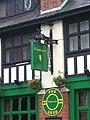 Fiddler's pub sign, 73 Dalling Road - geograph.org.uk - 1558077.jpg