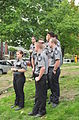 Fiestas Patrias Parade, South Park, Seattle, 2015 - pre-parade - police Explorer Scouts 17 (21371183120).jpg