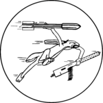 Fighting Squadron 86 (United States Navy) insignia, 1945.png