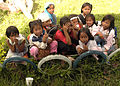 Filipino girls outside Paaralange elementary school DVIDS67904.jpg