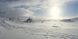 Hordaland - Image: Finse In Winter
