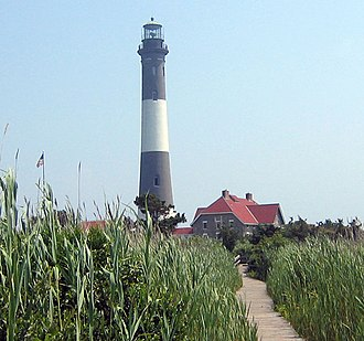 Suffolk County, New York - Fire Island Lighthouse