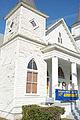 First African Baptist Church, corner detail, Waycross, GA, US.jpg